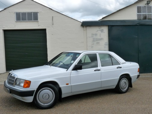 Mercedes190EK196KOOshowroom