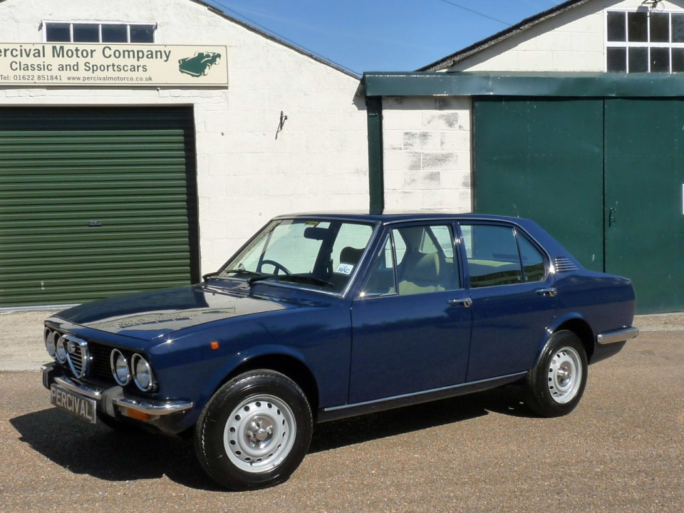 Alfa Romeo Alfetta 1 8 Saloon For Sale