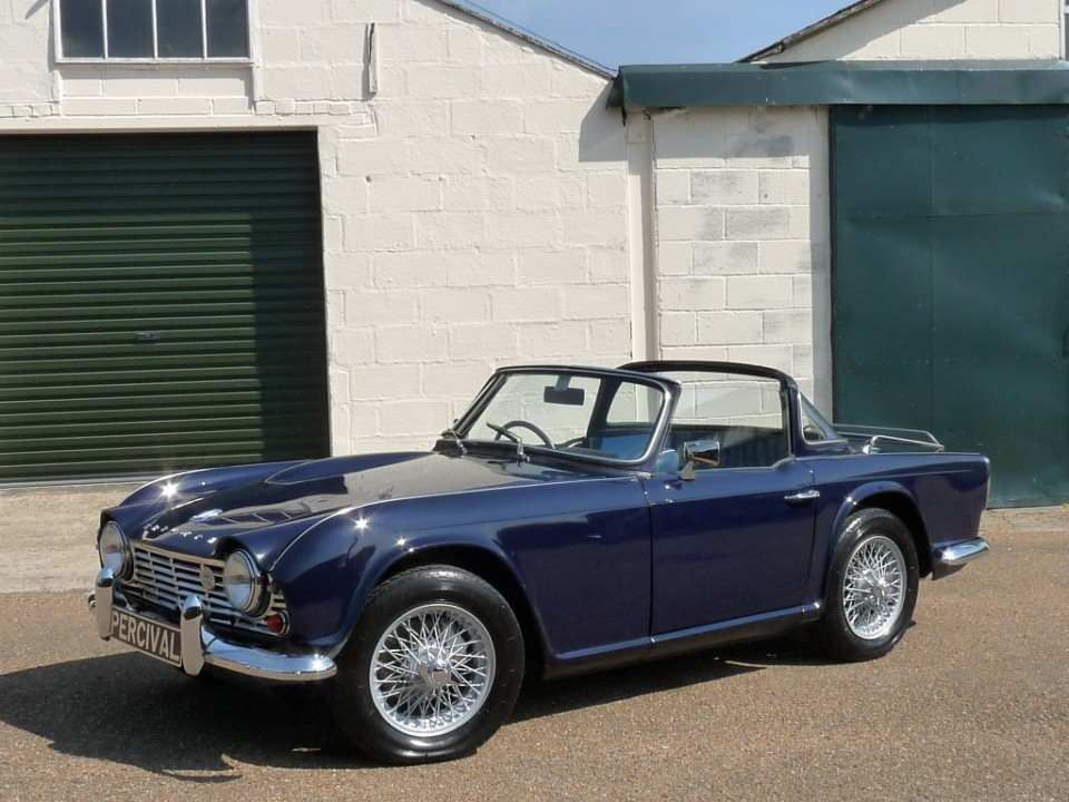 Triumph Tr4 With Surrey Top For Sale
